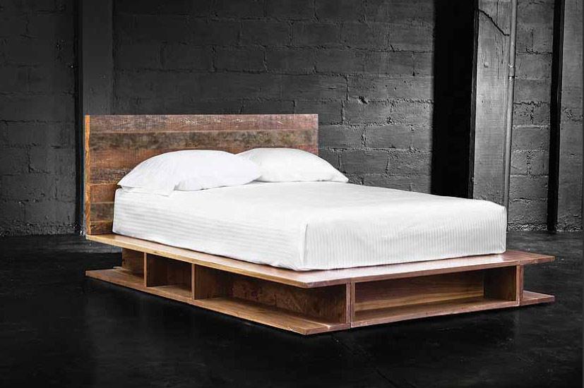 Tierra Platform Bed - Tansu.Net