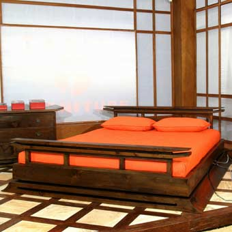 Memory Foam Mattresses With Japanese Platform Beds Asian